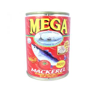 Mega Mackerel In Tomato Sauce 155g