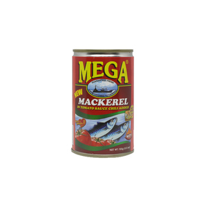 Mega Mackerel In Tomato Sauce Chili 155g