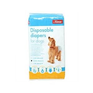 Les Filous Pet Diaper Medium 12s
