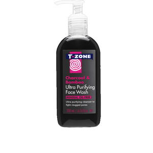 T Zone Facial Wash Charcoal And Bamboo 200ml