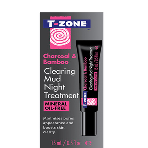 T Zone Mud Night Treatment Charcoal And Bamboo 15ml