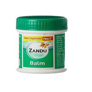 Zandu Balm Pain Relief Cream Ointment Rub 25ml