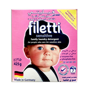 Filetti Detergent Powder Sensitive 425g