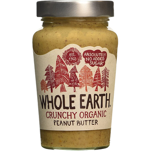 Whole Earth Crunchy Organic Peanut Butter Crunch 340g