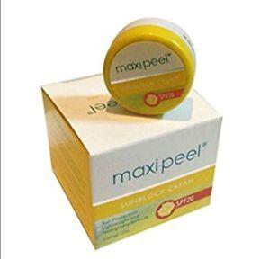 Maxi Peel Sunblock Cream 25g