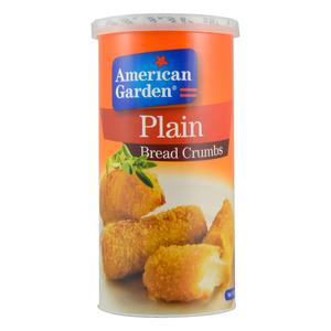 American Garden Plain Bread Crumbs 2x425g