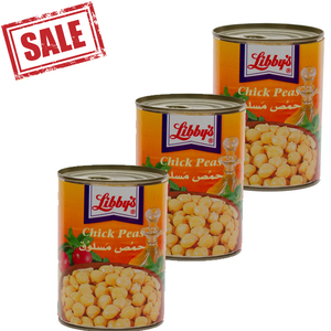 Libby's Chick Peas 3x400g