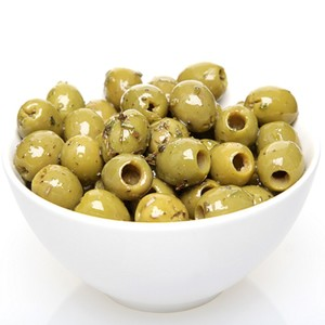 Spanish Pitted Green Olives 100g