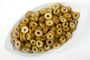 Spanish Sliced Green Olives 100g