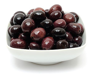 Natural Black Olives 100g