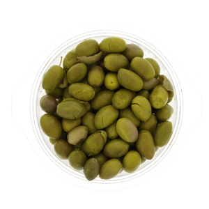 Jordanian Green Olives With Lemon 100g