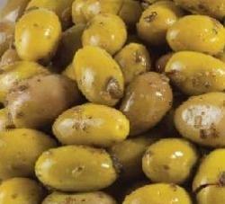 Jordanian Grn Olives With Zaatar 250g