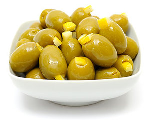Green Olives Stuffed With Lemon 100g