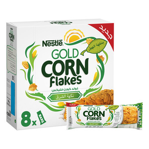 Nestle Gold Corn Flakes Cereal Bar 8x20g