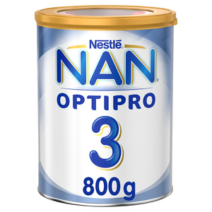 NAN Optipro Stage 3 Growing Up Milk With Iron 800g