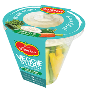 Veggies Cup With Ranch Dip 200g