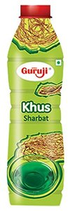 Guruji Khus Sharbat 750ml