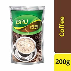 Bru Green Label Coffee 200g