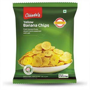 Chhedas Banana Chips Yellow 170g