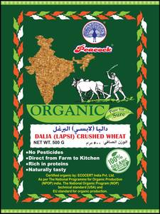 Peacock Organic Daliya (Lapsi) Crushed Wheat 500g