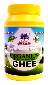 Peacock Organic Ghee 1L