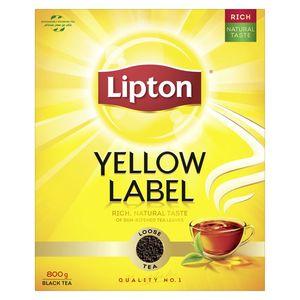Lipton Yellow Label Black Loose Tea 800g
