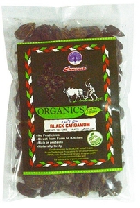 Peacock Organic Cardamom Black 100g
