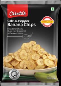 Chhedas Banana Chips Salt & Pepper 170g