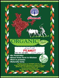 Peacock Organic Peanut 250g