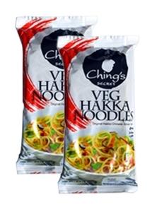 Chings Veg Hakka Noodles 2x150g