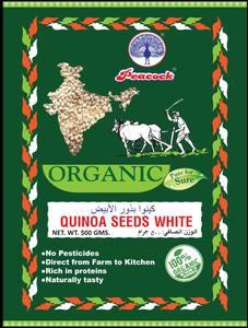 Peacock Organic Quinoa Seeds White 500g
