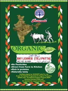 Peacock Organic Tej Patta 30g