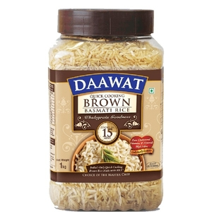 Dawat Brown Basmati Rice 1kg