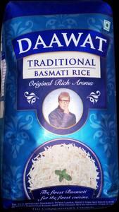 Dawat Traditional Basmati Rice 1kg