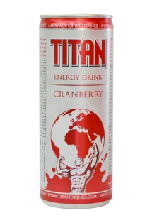 Titan Crnberry Energy Drink 250ml