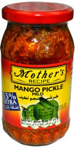 Mother's Recipe Mango Pickle Mild 300g