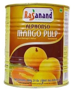 Rasanand Alpnso Mango Pulp 880g