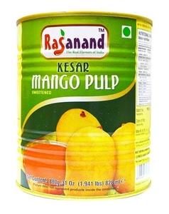 Rasanand Kesar Mango Pulp 880g