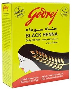 Godrej Black Henna Hair Dye Powder 15g
