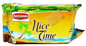 Britannia Nice Time Sugar Coconut Biscuits 100g