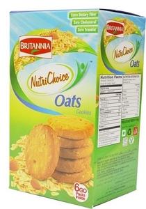 Britania Nurtichoice Oats Cookies 150g