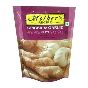 Mother Recipee Ginger & Garlic Paste Pouch 200g