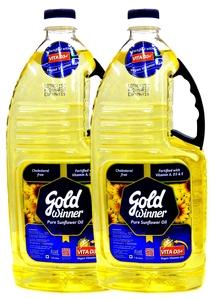 Gold Winner Sunflower Oil 2x1.8L