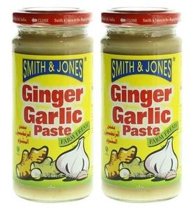 Smith & Jone Ginger Garlic Paste 2x250g