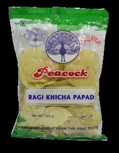Peacock Ragi Khicha Papad 200g