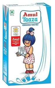 Amul Taza Full Cream Milk 1L