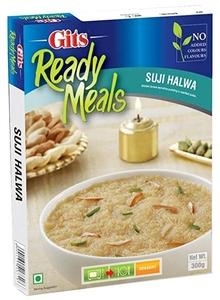 Gits Ready Meals Suji Halwa 300g
