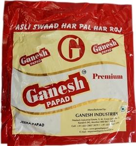 Ganesh Jeera Papad 200g