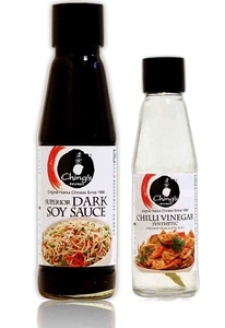 Chings Dark Soy Sauce + Chings Chilly Vinegar 200ml+200ml