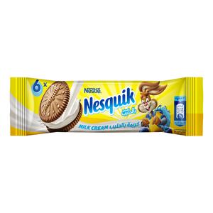 Nestle Nesquik Biscuits Milk Cream 56g